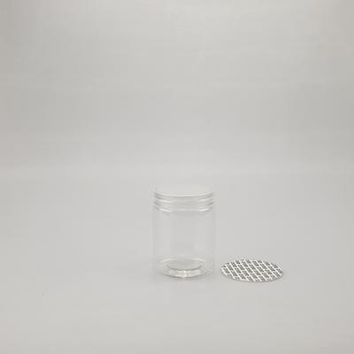 """100mm Pet Jars with """"Plastic"""" Screw Cap"""